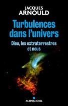 """Couverture du livre : """"Turbulences dans l'univers"""""""