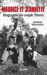 """Couverture du livre : """"Maurice et Jeannette"""""""