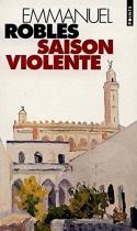 """Couverture du livre : """"Saison violente"""""""