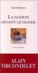"""Couverture du livre : """"La maison devant le monde"""""""