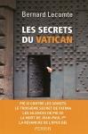 """Couverture du livre : """"Les secrets du Vatican"""""""