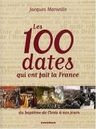 """Couverture du livre : """"Les 100 dates qui ont fait la France"""""""