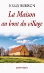 """Couverture du livre : """"La maison au bout du village"""""""