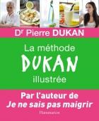 """Couverture du livre : """"La méthode Dukan illustrée"""""""