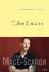 """Couverture du livre : """"Ticket d'entrée"""""""