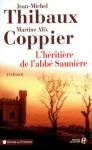 """Couverture du livre : """"L'héritière de l'abbé Saunière"""""""