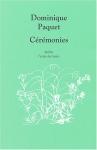 """Couverture du livre : """"Cérémonies"""""""
