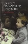 """Couverture du livre : """"Un goût de cannelle et d'espoir"""""""
