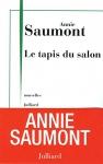 """Couverture du livre : """"Le tapis du salon"""""""