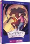 """Couverture du livre : """"La mystérieuse expédition"""""""