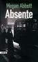 """Couverture du livre : """"Absente"""""""
