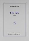"""Couverture du livre : """"Un an"""""""