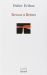 """Couverture du livre : """"Retour à Reims"""""""