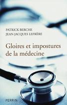 """Couverture du livre : """"Gloires et impostures de la médecine"""""""