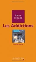 """Couverture du livre : """"Les addictions"""""""