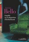 """Couverture du livre : """"Enquête sur la disparition d'Émilie Brunet"""""""