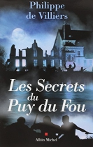 """Couverture du livre : """"Les secrets du Puy du Fou"""""""