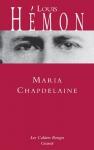 """Couverture du livre : """"Maria Chapdelaine"""""""