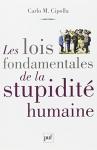"""Couverture du livre : """"Les lois fondamentales de la stupidité humaine"""""""