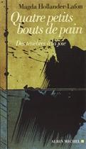 """Couverture du livre : """"Quatre petits bouts de pain"""""""