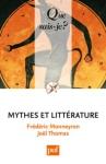 """Couverture du livre : """"Mythes et littérature"""""""