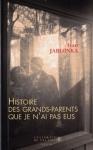 """Couverture du livre : """"Histoire des grands-parents que je n'ai pas eux"""""""