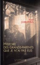 """Couverture du livre : """"Histoire des grands-parents que je n'ai pas eus"""""""