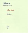 """Couverture du livre : """"Silence"""""""