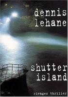 """Couverture du livre : """"Shutter Island"""""""