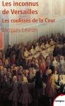 """Couverture du livre : """"Les inconnus de Versailles"""""""