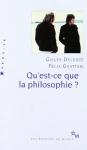 """Couverture du livre : """"Qu'est-ce que la philosophie ?"""""""