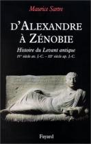 """Couverture du livre : """"D'Alexandre à Zénobie"""""""