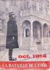 """Couverture du livre : """"La bataille de l'Yser 1914"""""""