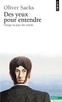 """Couverture du livre : """"Des yeux pour entendre"""""""