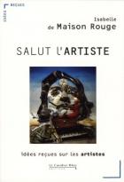 """Couverture du livre : """"Salut l'artiste"""""""