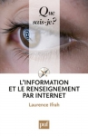 """Couverture du livre : """"L'information et le renseignement par internet"""""""