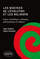 """Couverture du livre : """"Les sciences de l'évolution et les religions"""""""