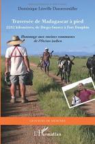 """Couverture du livre : """"Traversée de Madagascar"""""""