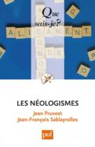 """Couverture du livre : """"Les néologismes"""""""