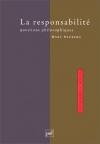"""Couverture du livre : """"La responsabilité"""""""