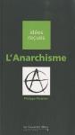 """Couverture du livre : """"L'anarchisme"""""""
