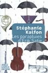 """Couverture du livre : """"Les parapluies d'Erik Satie"""""""