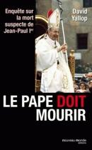 """Couverture du livre : """"Le pape doit mourir"""""""