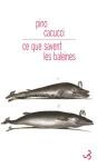 """Couverture du livre : """"Ce que savent les baleines"""""""