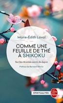 """Couverture du livre : """"Comme une feuille de thé à Shikoku"""""""