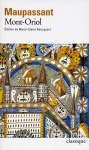"""Couverture du livre : """"Mont-Oriol"""""""