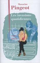 """Couverture du livre : """"Les invasions quotidiennes"""""""