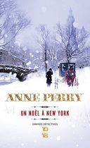 """Couverture du livre : """"Un noël à New York"""""""