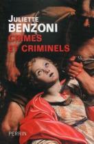 """Couverture du livre : """"Crimes et criminels"""""""