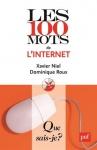 """Couverture du livre : """"Les 100 mots de l'internet"""""""